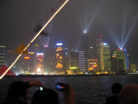 "Hongkong Island, Skyline Light Show, ""Symphony of Lights"""